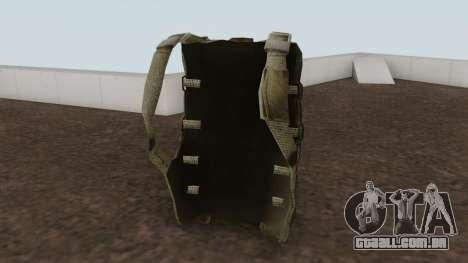 Original HD Parachute para GTA San Andreas segunda tela