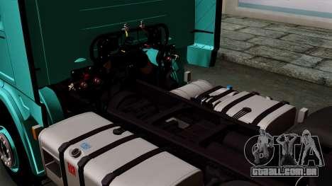 Scania R Topline para GTA San Andreas vista traseira