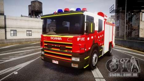 Scania 94D 260 Victorian CFA [ELS] para GTA 4