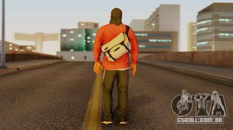 [BF Hardline] Gang Professional para GTA San Andreas terceira tela