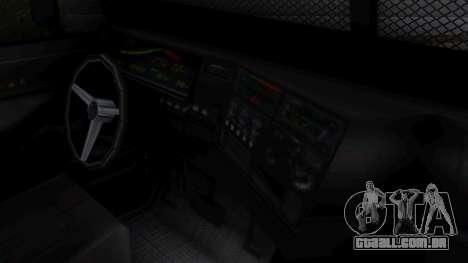 GTA 5 Enforcer Raccoon City Police Type 2 para GTA San Andreas vista direita