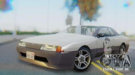 Elegy Octavia Pony Vinyl para GTA San Andreas
