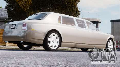 Rolls-Royce Phantom LWB para GTA 4 vista superior