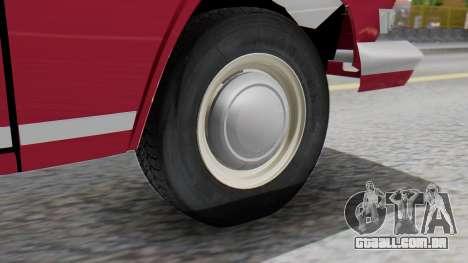 GAZ 21 Volga v3 para GTA San Andreas traseira esquerda vista