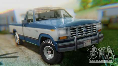 Ford F-150 1984 Final para GTA San Andreas esquerda vista