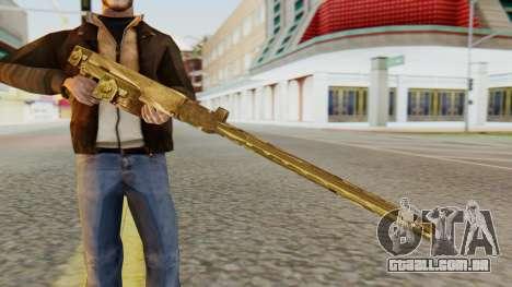 MG-81 from Hidden and Dangerous 2 para GTA San Andreas terceira tela