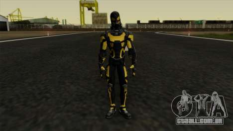 Ant-Man Yellow Jacket para GTA San Andreas segunda tela