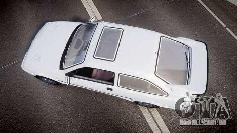 Ford Sierra RS500 Cosworth para GTA 4 vista direita