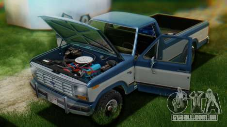 Ford F-150 1984 Final para GTA San Andreas interior