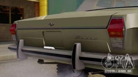 GAZ 24-95 para GTA San Andreas vista traseira