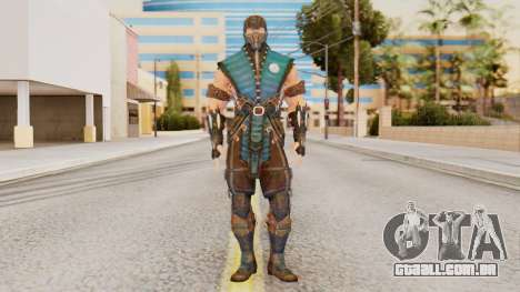 [MKX] Sub-Zero Masked para GTA San Andreas segunda tela