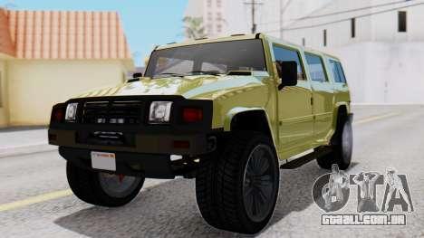 GTA 5 Patriot Dirt para GTA San Andreas
