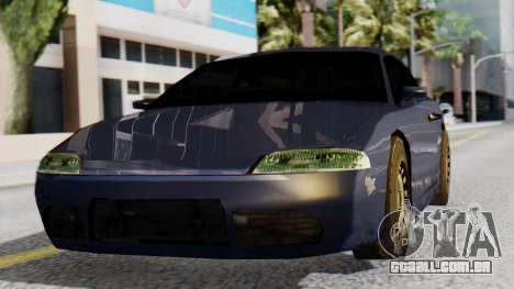 Mitsubishi Eclipse GSX SA Style para GTA San Andreas