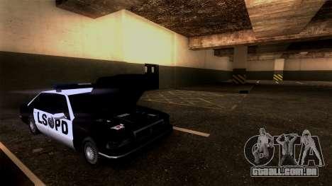 Novo LSPD Estacionamento para GTA San Andreas