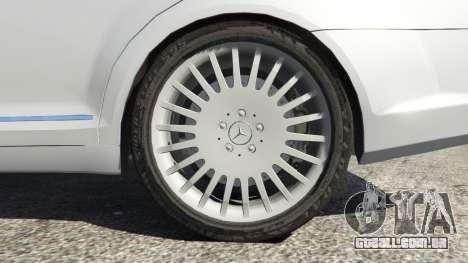 GTA 5 Mercedes-Benz S500 W221 v0.3 [Alpha] traseira direita vista lateral