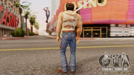 Wolverine v1 para GTA San Andreas terceira tela