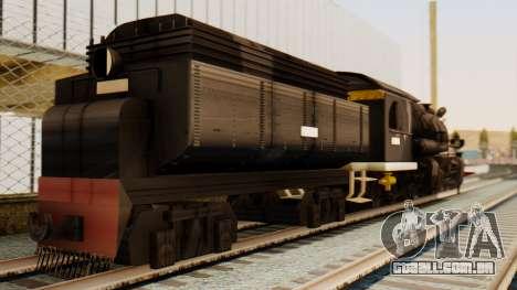 CC5019 Indonesian Steam Locomotive v1.0 para GTA San Andreas esquerda vista