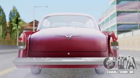 GAZ 21 Volga v3 para GTA San Andreas vista interior