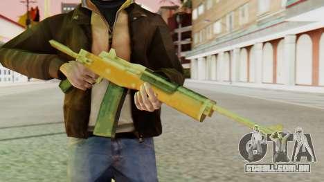 Ruger para GTA San Andreas terceira tela