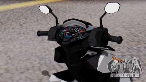 Vario 150 eSP IVF para GTA San Andreas vista direita