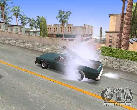 Blood Effects para GTA San Andreas