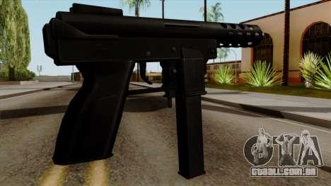 Original HD Tec9 para GTA San Andreas segunda tela