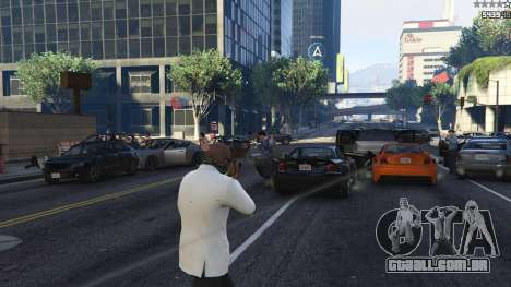 GTA 5 Strapped Peds terceiro screenshot