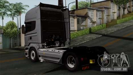Scania R730 Streamline 4x2 para GTA San Andreas esquerda vista