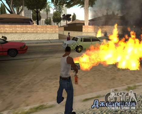 HQ Effects and Sun Final Version para GTA San Andreas terceira tela