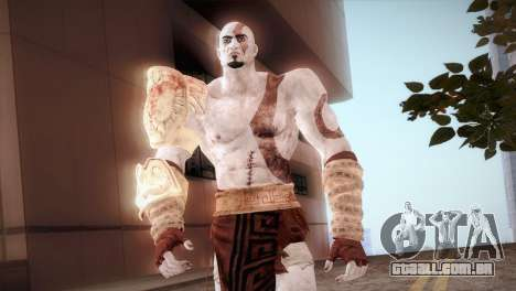 God Of War 3 Kratos para GTA San Andreas terceira tela