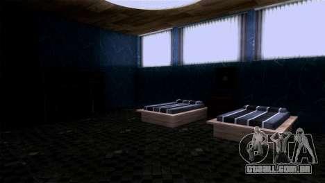 Retextured interior da mansão de MADD Dogg para GTA San Andreas quinto tela