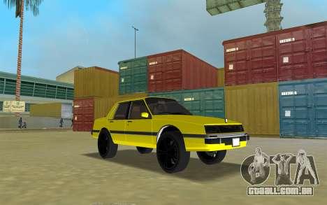 GTA IV Willard Submarino Amarelo para GTA Vice City