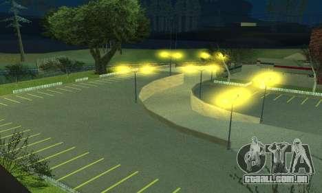A companhia de petróleo LUKOIL para GTA San Andreas por diante tela