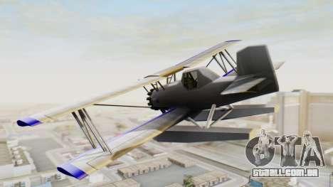 Um cropduster-Hidroavião v1.0 para GTA San Andreas esquerda vista