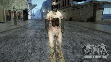 Order Soldier from Silent Hill para GTA San Andreas segunda tela