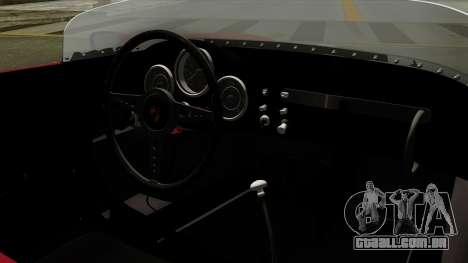 Porsche 550A Spyder 1956 para GTA San Andreas vista direita