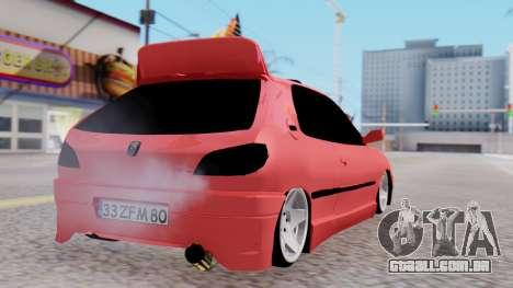 Peugeot 306 GTI para GTA San Andreas esquerda vista