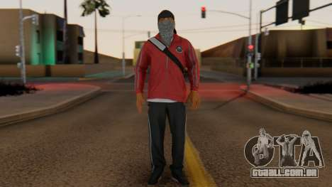 [BF Hardline] Gang Professional para GTA San Andreas segunda tela