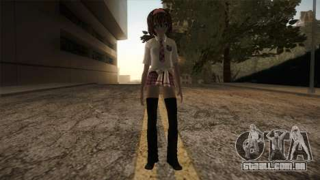 Rasta School Girl para GTA San Andreas segunda tela