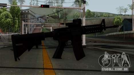AR-15 Elcan para GTA San Andreas segunda tela