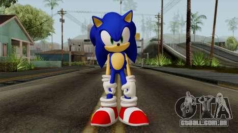 Sonic the Hedgehog HD para GTA San Andreas segunda tela
