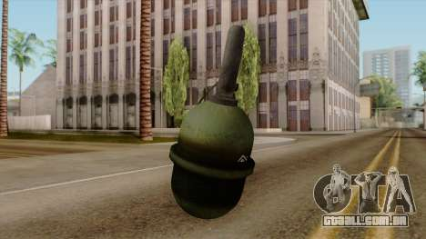 Original HD Grenade para GTA San Andreas segunda tela