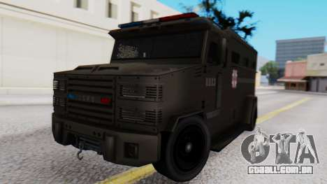 GTA 5 Enforcer Raccoon City Police Type 1 para GTA San Andreas