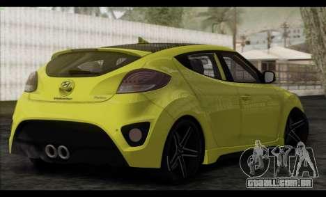 Hyundai Veloster 2012 para GTA San Andreas esquerda vista