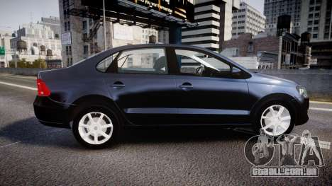 Volkswagen Polo para GTA 4 esquerda vista