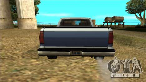 New Yosemite v2 para GTA San Andreas vista superior