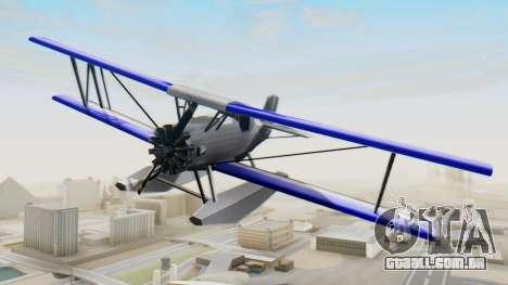 Um cropduster-Hidroavião v1.0 para GTA San Andreas vista direita