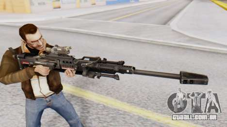 Sniper Rifle 8x Scope para GTA San Andreas terceira tela