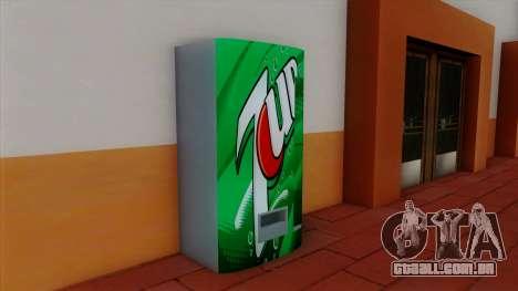 Refrigerante 7UP para GTA San Andreas segunda tela