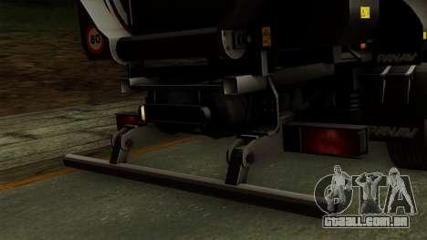 Panav Trailer para GTA San Andreas vista direita